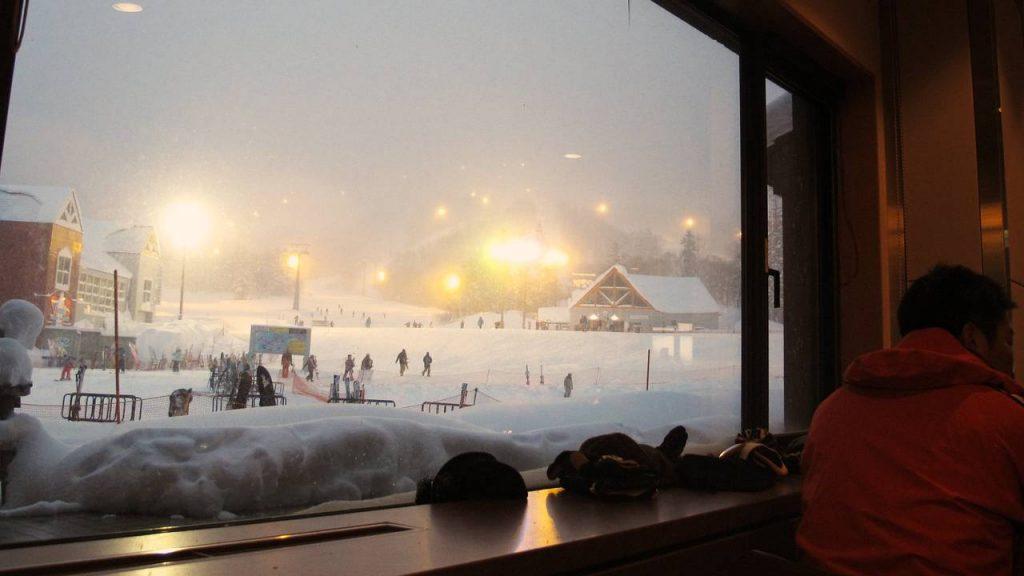 Het rustige skigebied Kiroro