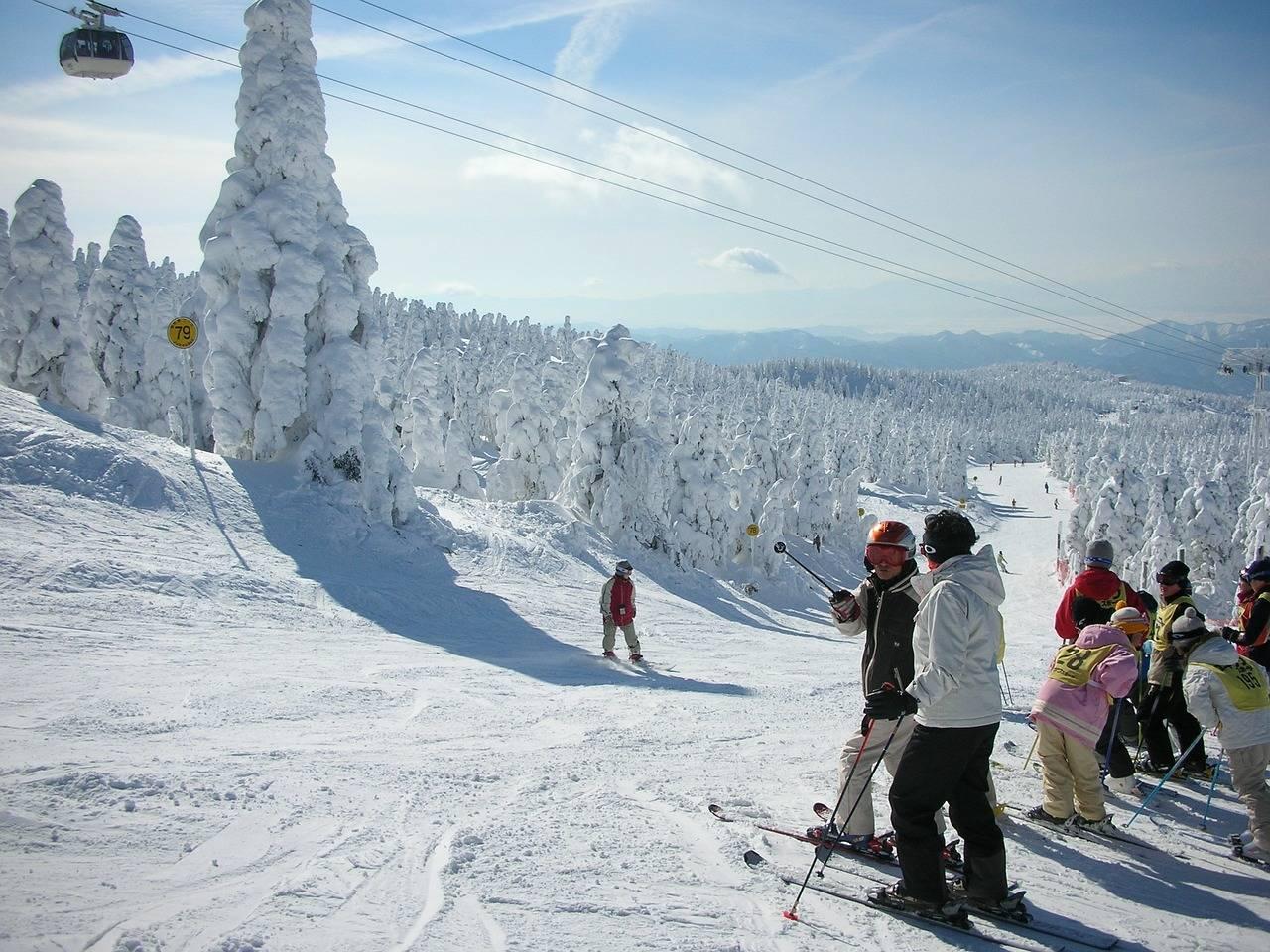 Andere skigebieden in Japan