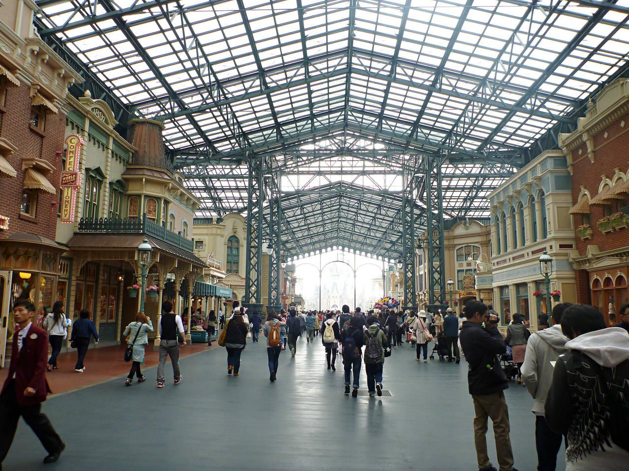 World Bazaar Disneyland Tokyo