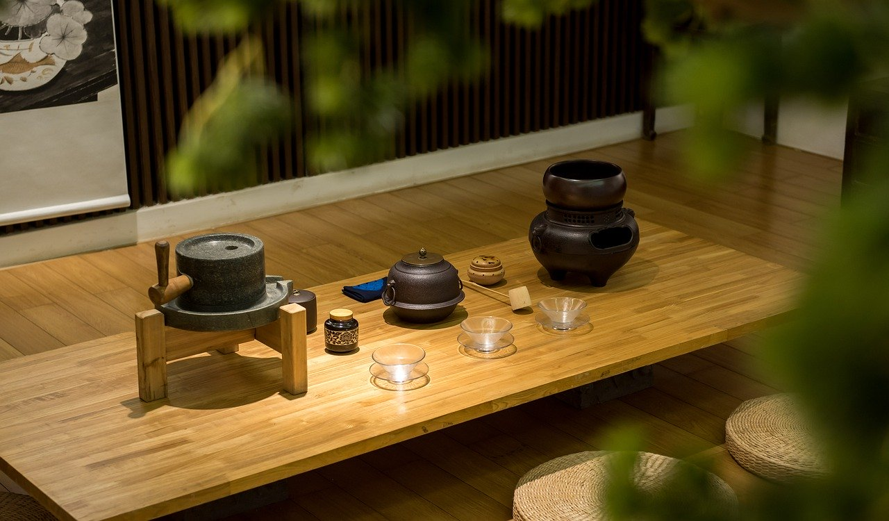 Japanse thee ceremonie met matcha