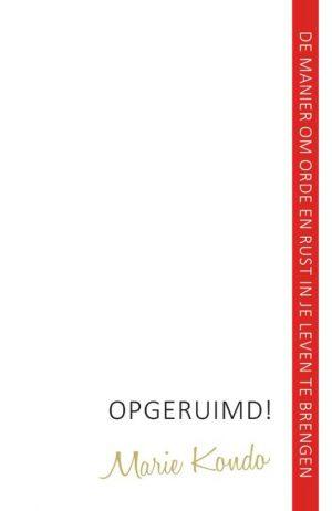 Boek Opgeruimd! Marie Kondo