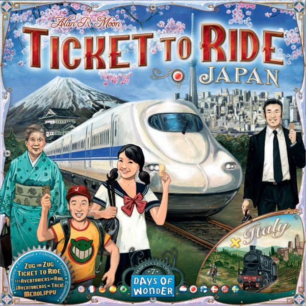 Ticket to Ride Japan bordspel