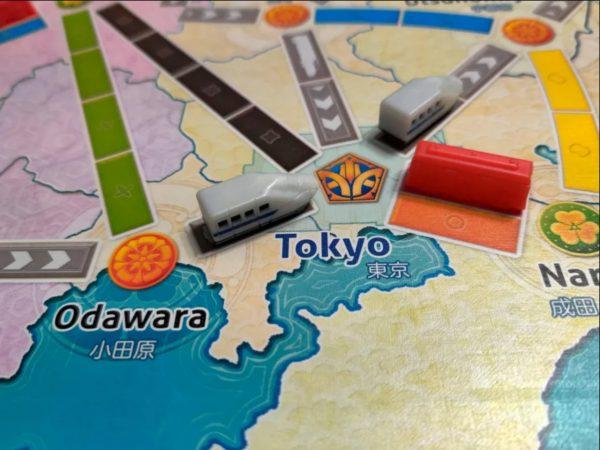 Ticket to Ride Japan Shinkansen