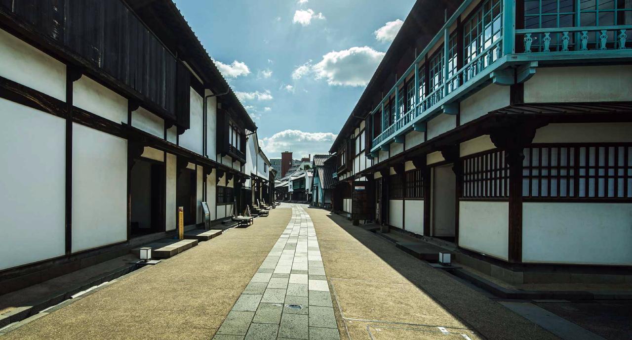 Deshima straatbeeld