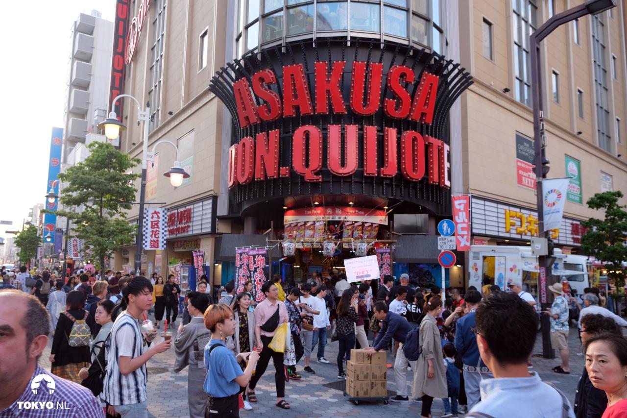 Don Quijote in Asakusa
