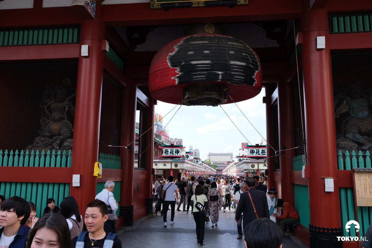 Ingang Senso-ji tempel