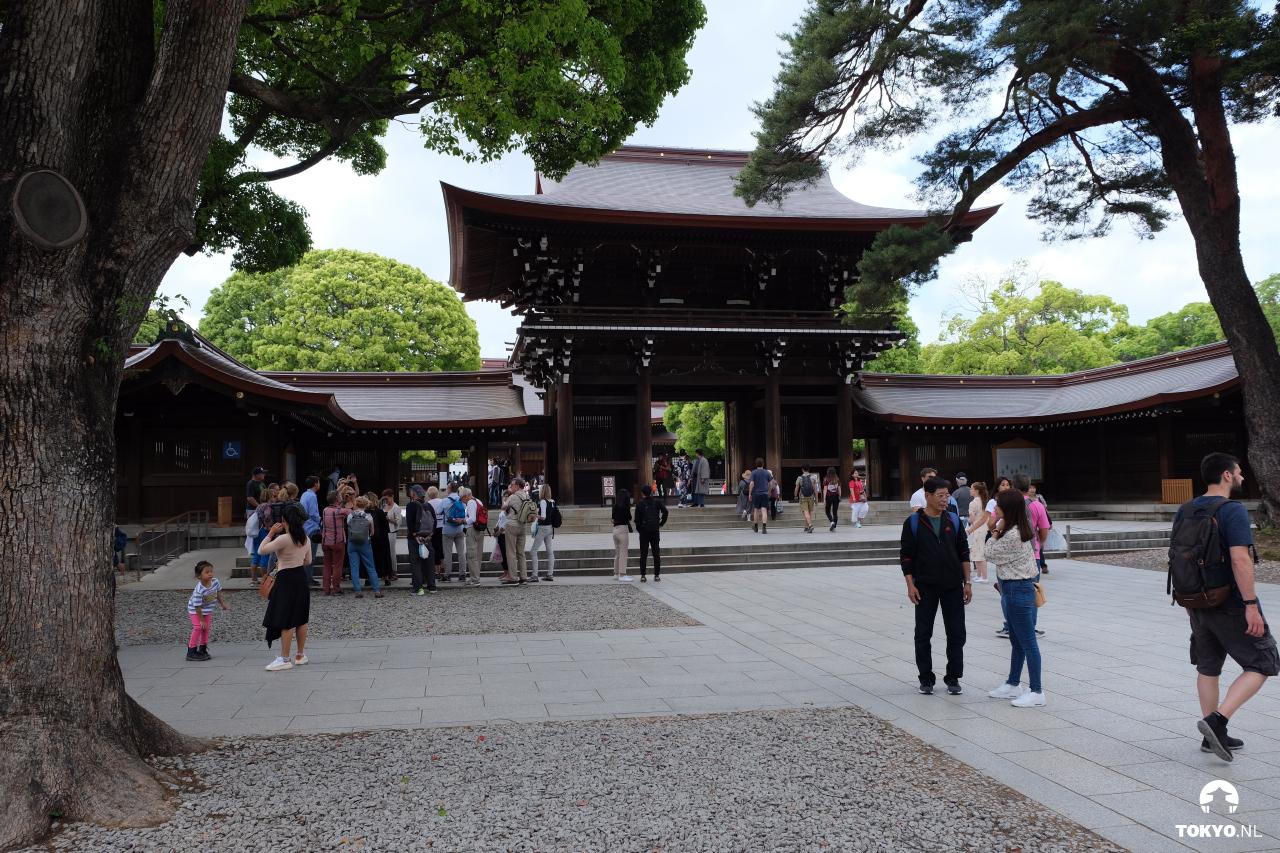 Meiji tempel Tokyo