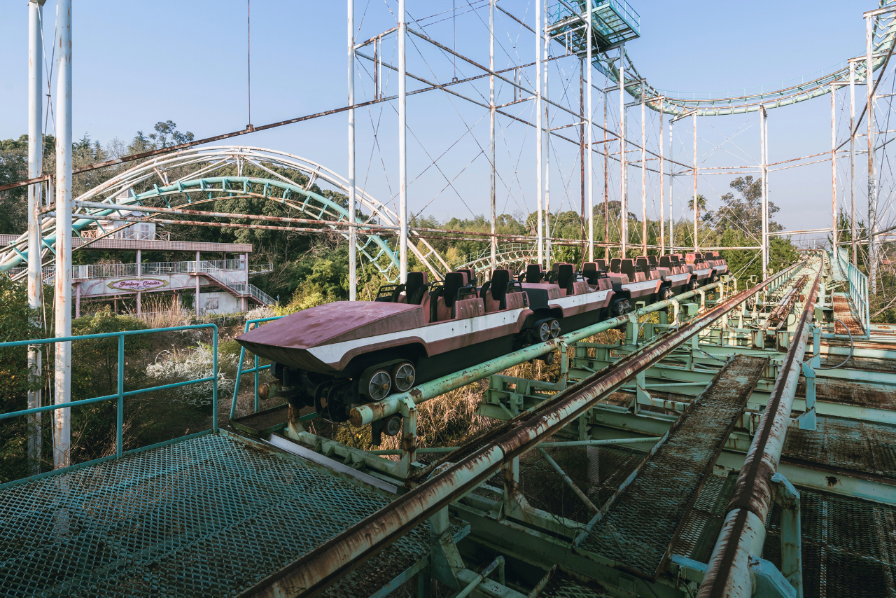 Nara Dreamland achtbaan