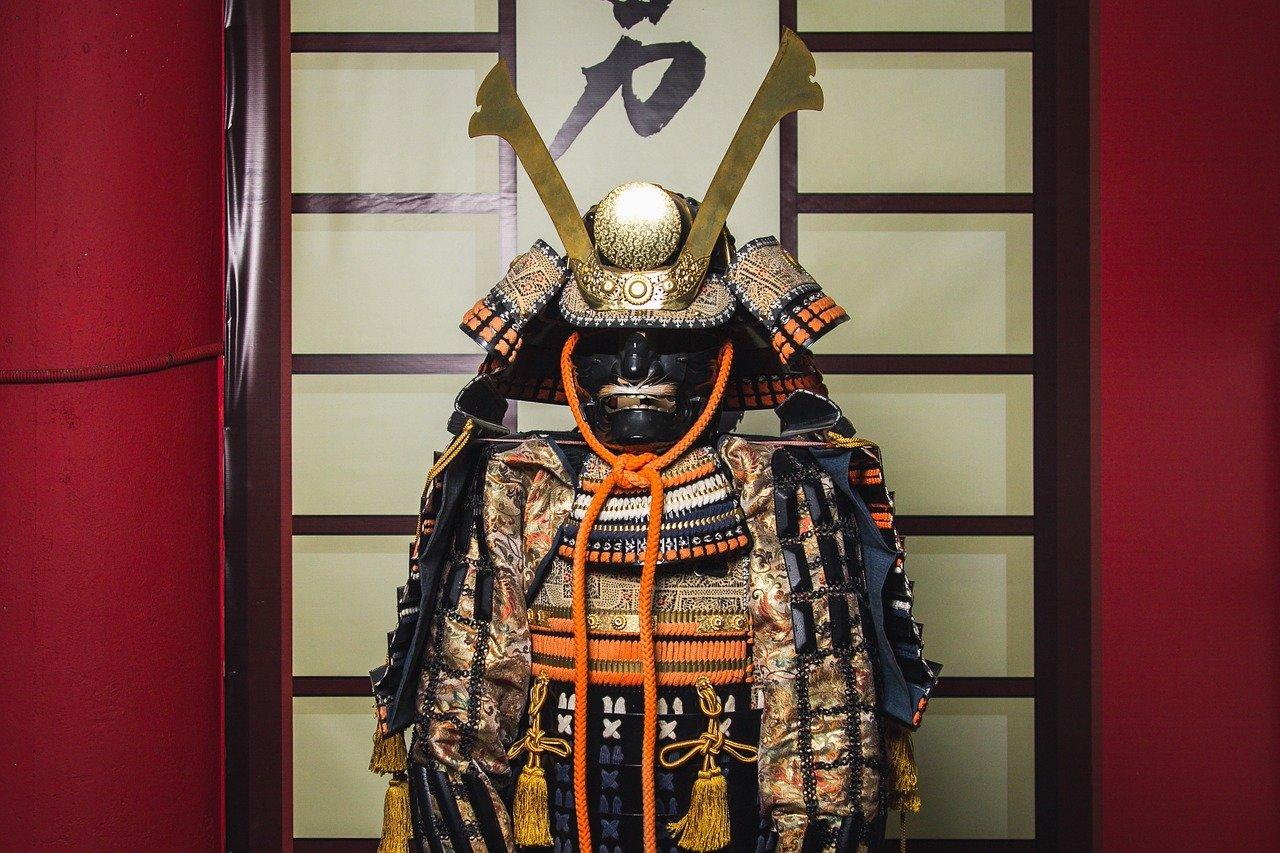 Samoerai Yoroi en Kabuto harnas