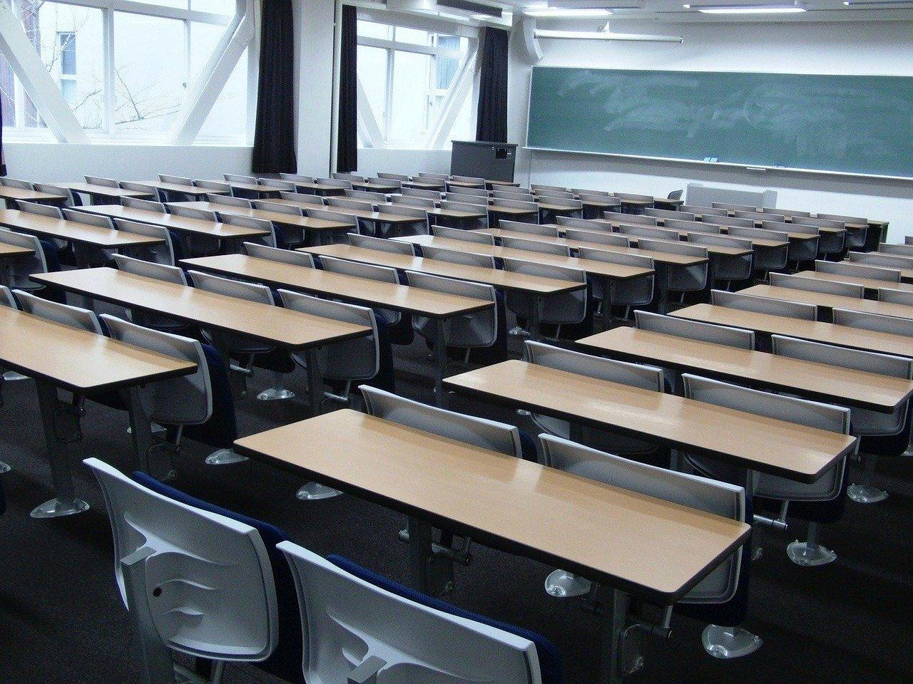 Schoollokaal in Japan