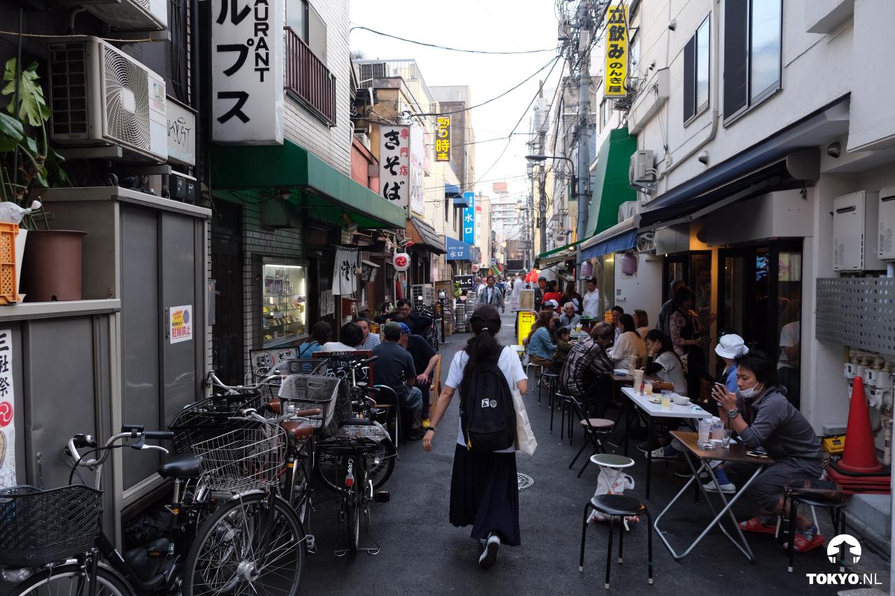 Streetfood eten in Asakusa
