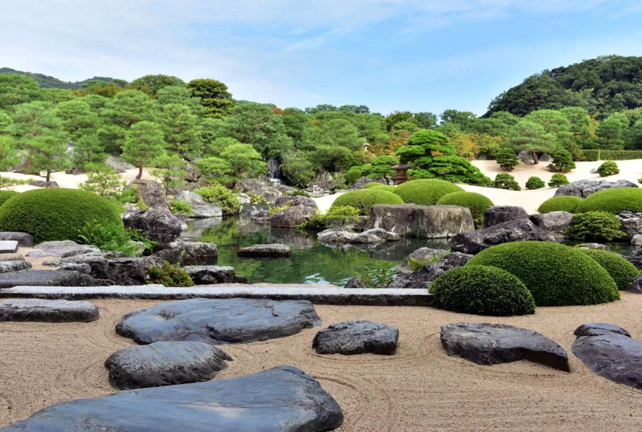 Adachi Museum of Art tuin