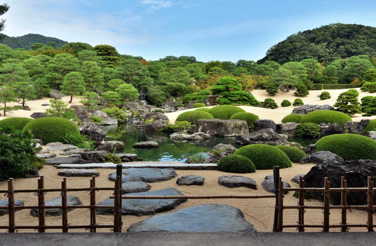 Japanse tuinen in Japan