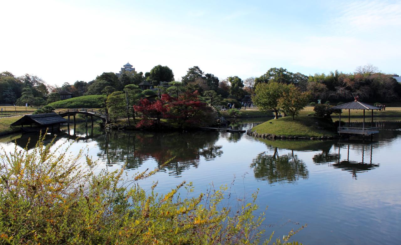 Kōraku-en tuin in Okayama