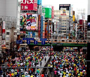 Marathon Tokyo in Shinjuku