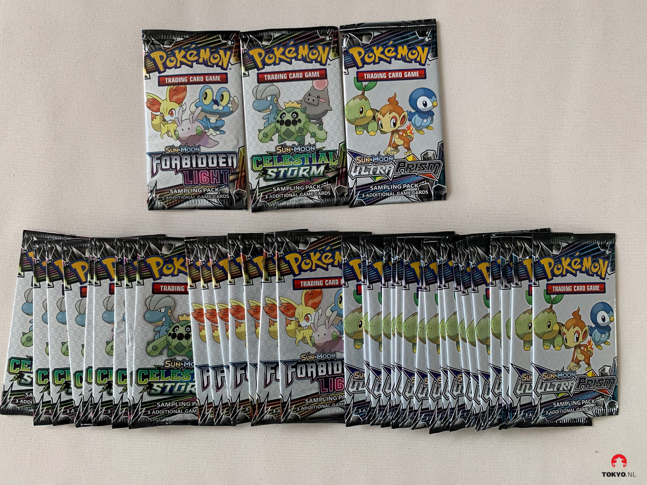 Sun & Moon boosters Pokémon