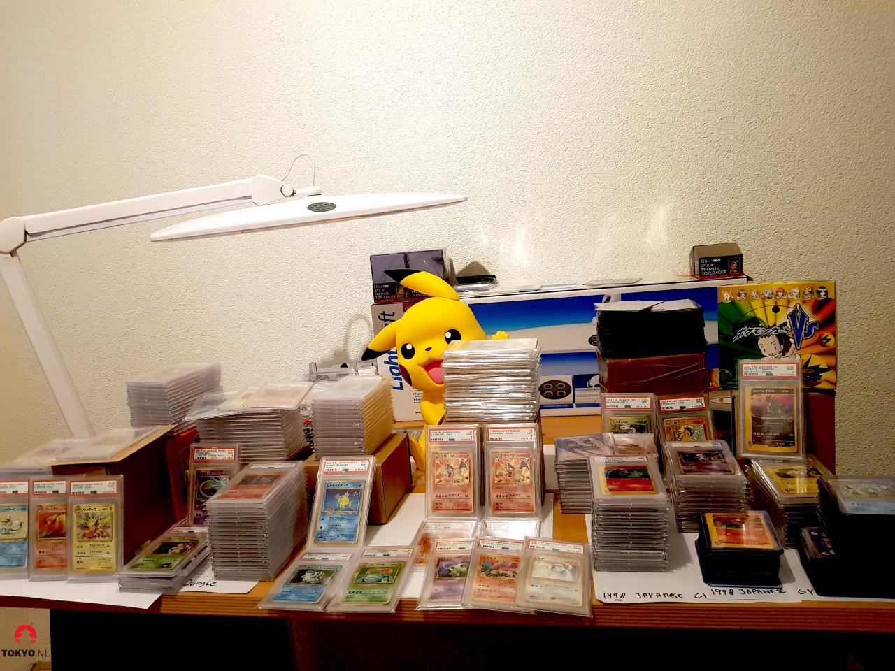 Verzameling Pokémon kaarten