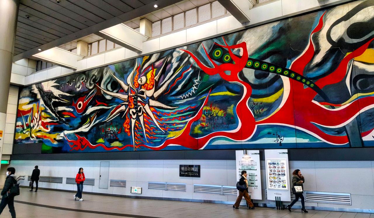 Myth of Tomorrow Shibuya Station