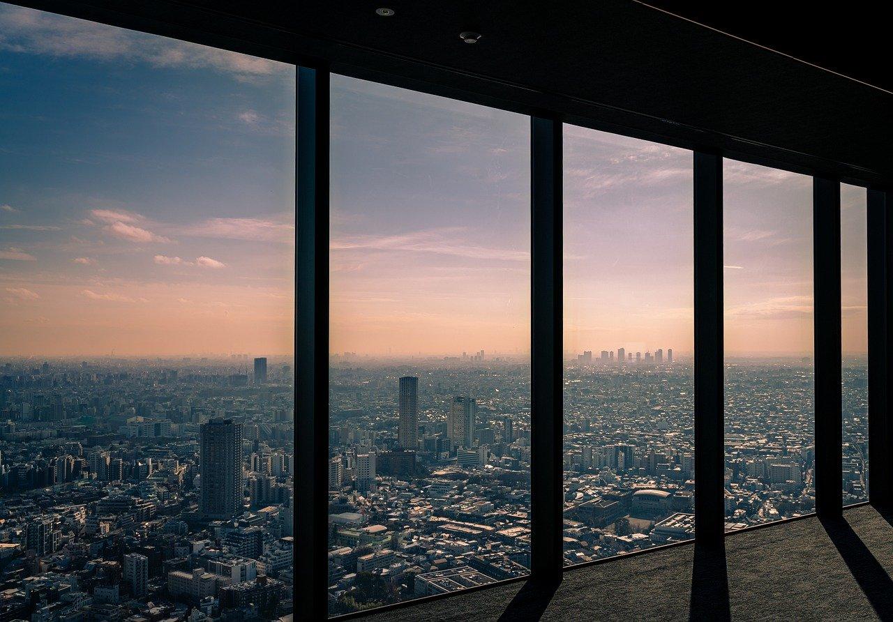 Shibuyasky uitzichtpunt