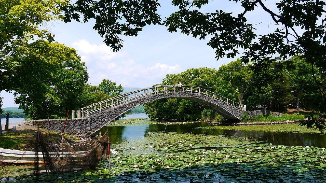 Japanse tuin Hakodate