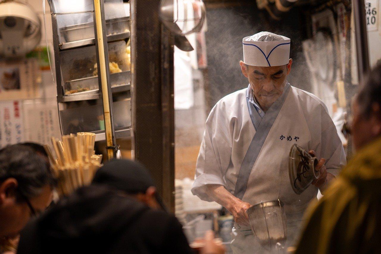 Chefkok in Tokyo