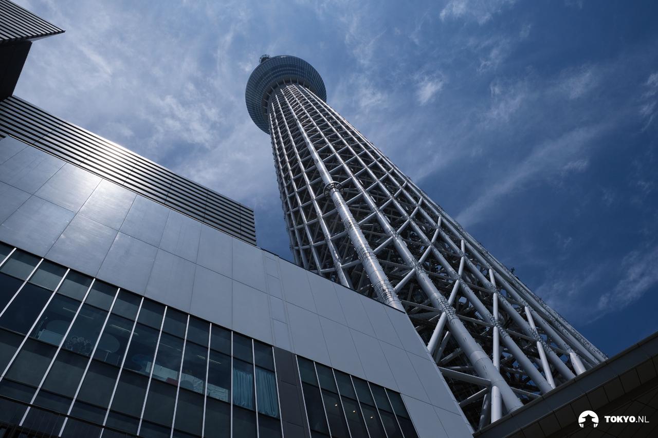 Staalconstructie van de Tokyo Skytree