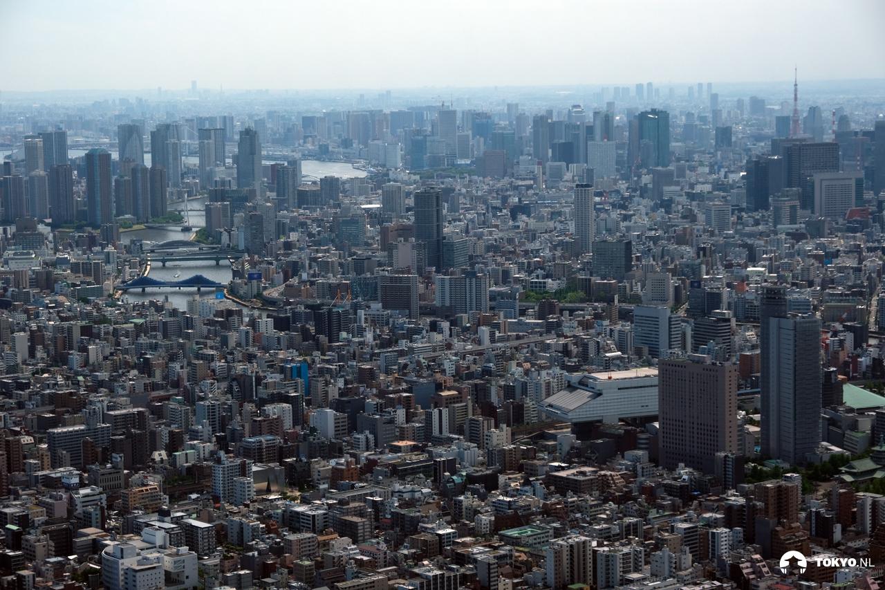 Uitzichtpunt Tokyo Skytree