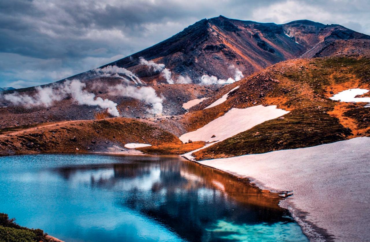 Daisetsuzan vulkaan