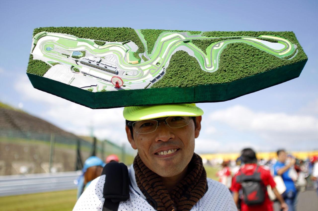 Japanse F1 fan