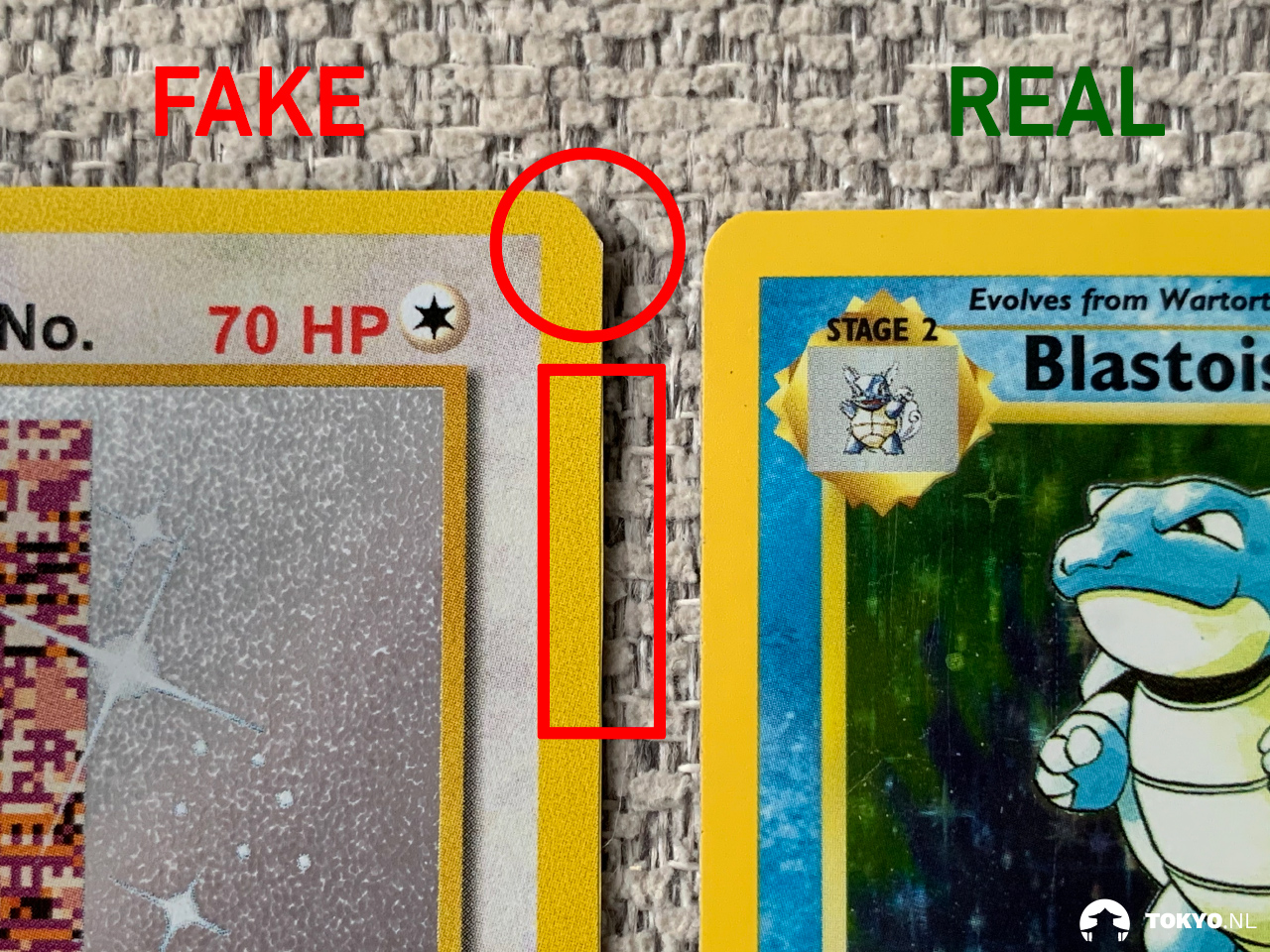 Karton drukwerk Pokémon kaarten