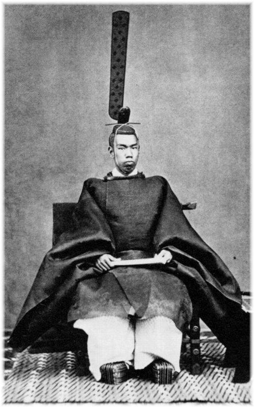 Keizer Meiji (明治天皇, Meiji-tennō)