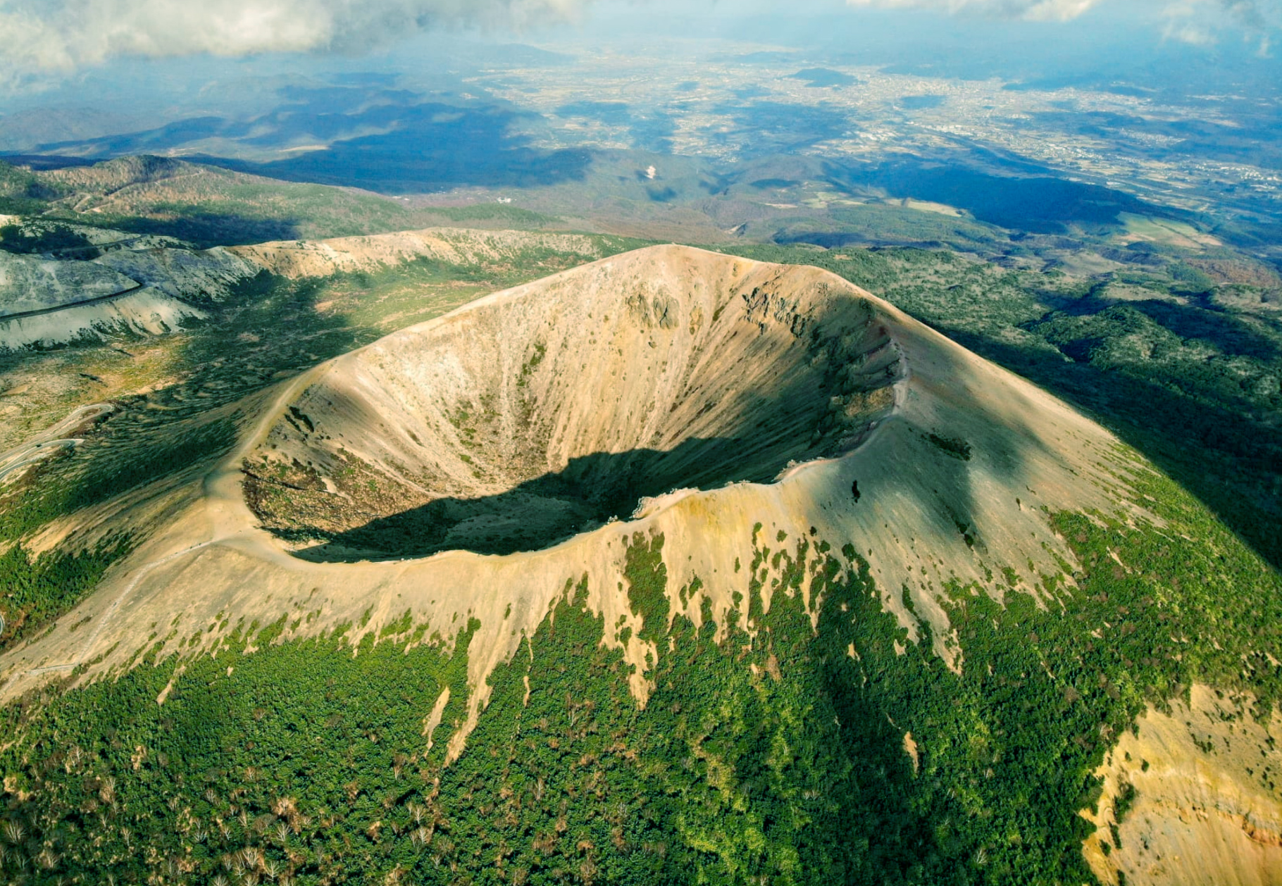 Mount Azuma Kofuji in Japan