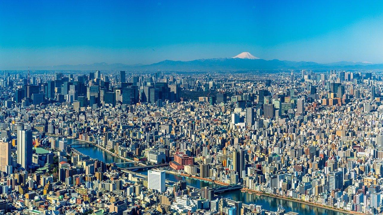 Mount Fuji vanuit Tokyo