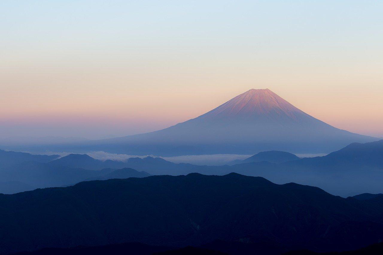 Mount Fuji vulkaan