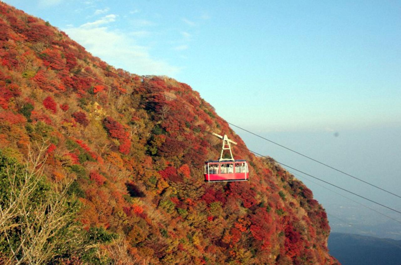 Mount Unzen kabelbaan