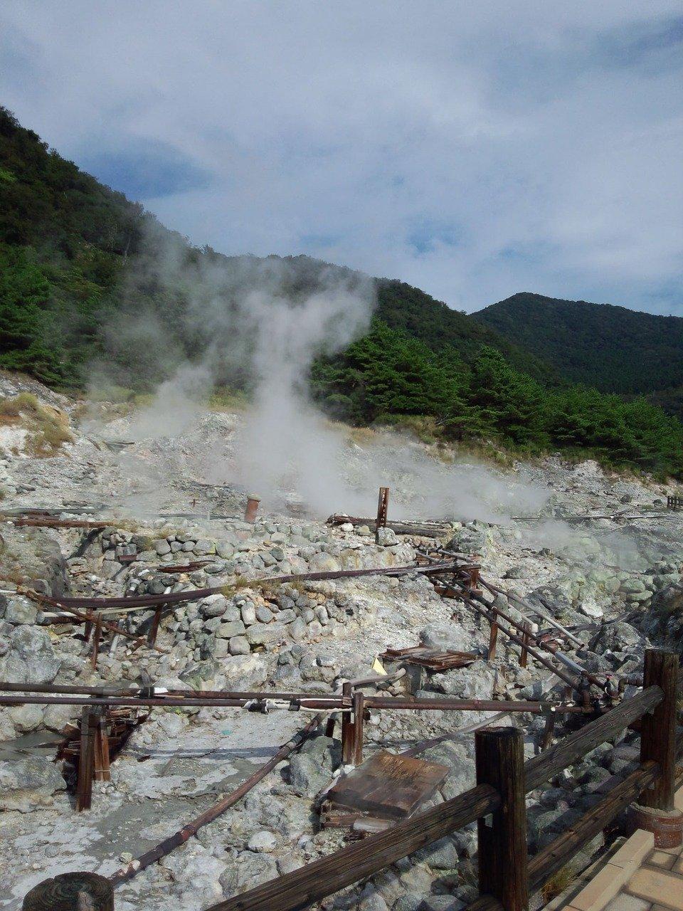 Mount Unzen onsen