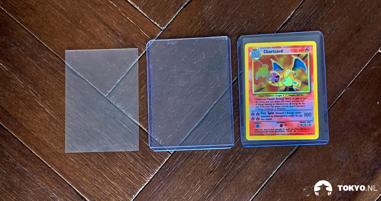 Pokémon kaarten beschermen