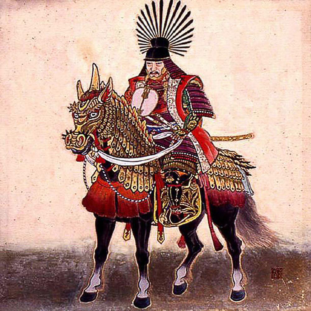 Shogun Toyotomi Hideyoshi (豊臣 秀吉)