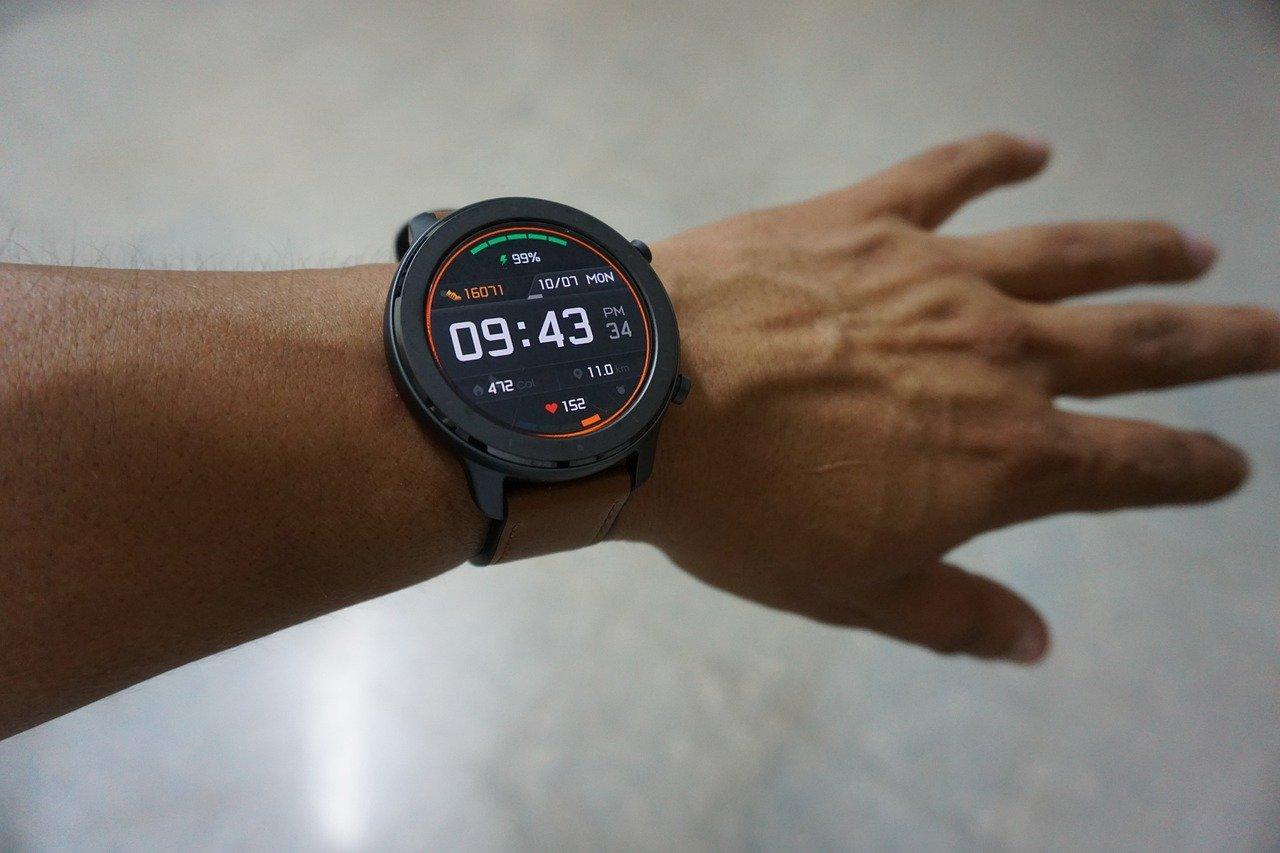 PM aanduiding op een horloge