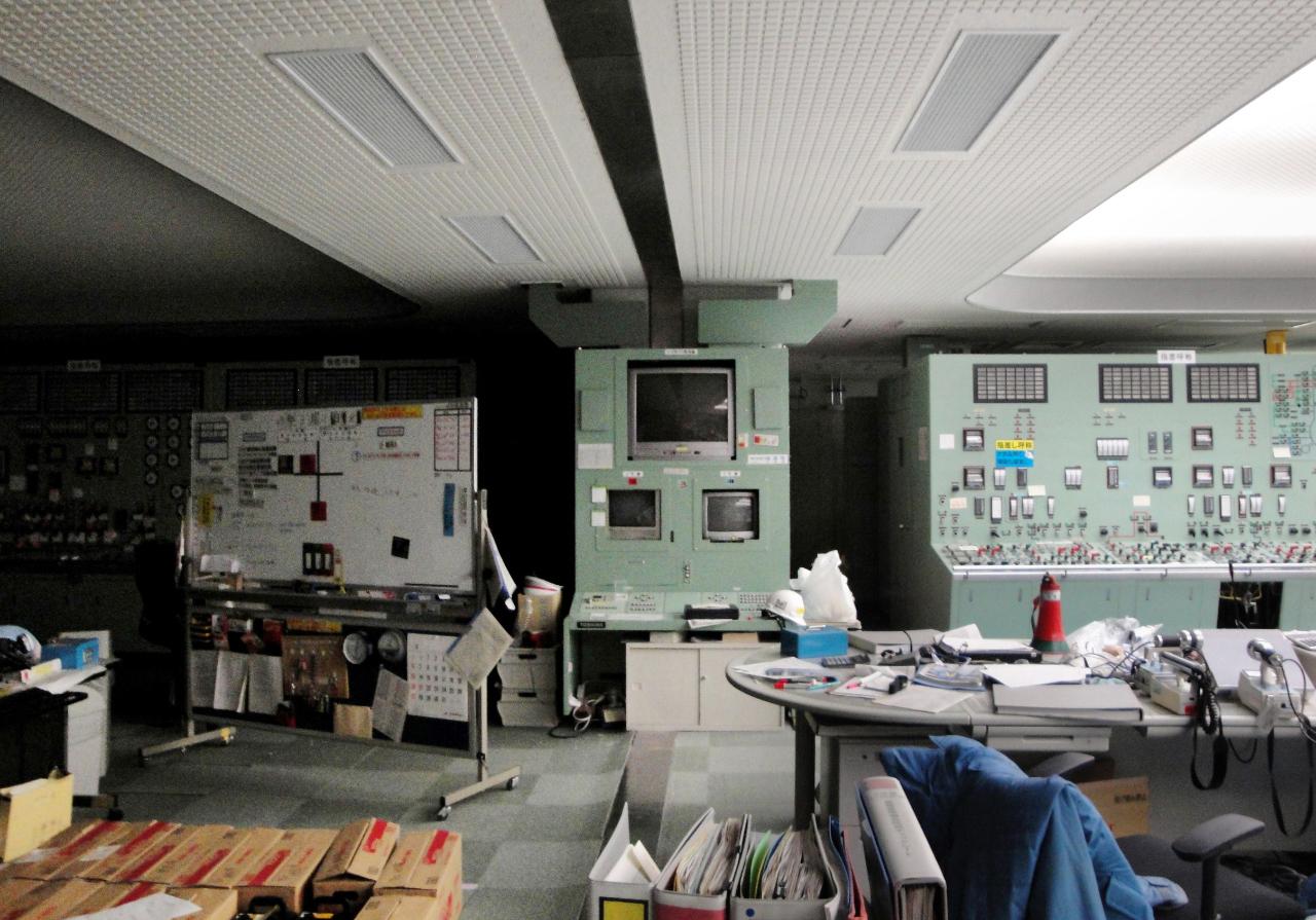 Controle kamer van de kerncentrale