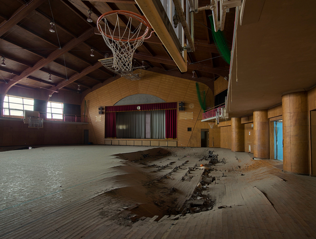 Fukushima Exclusion Zone sporthal