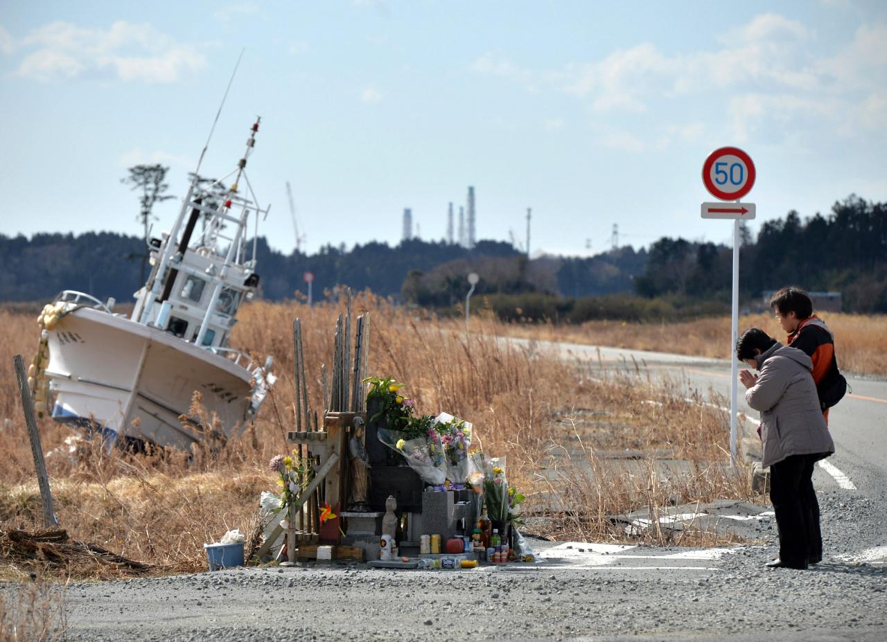Herdenking tsunami Fukushima 2011