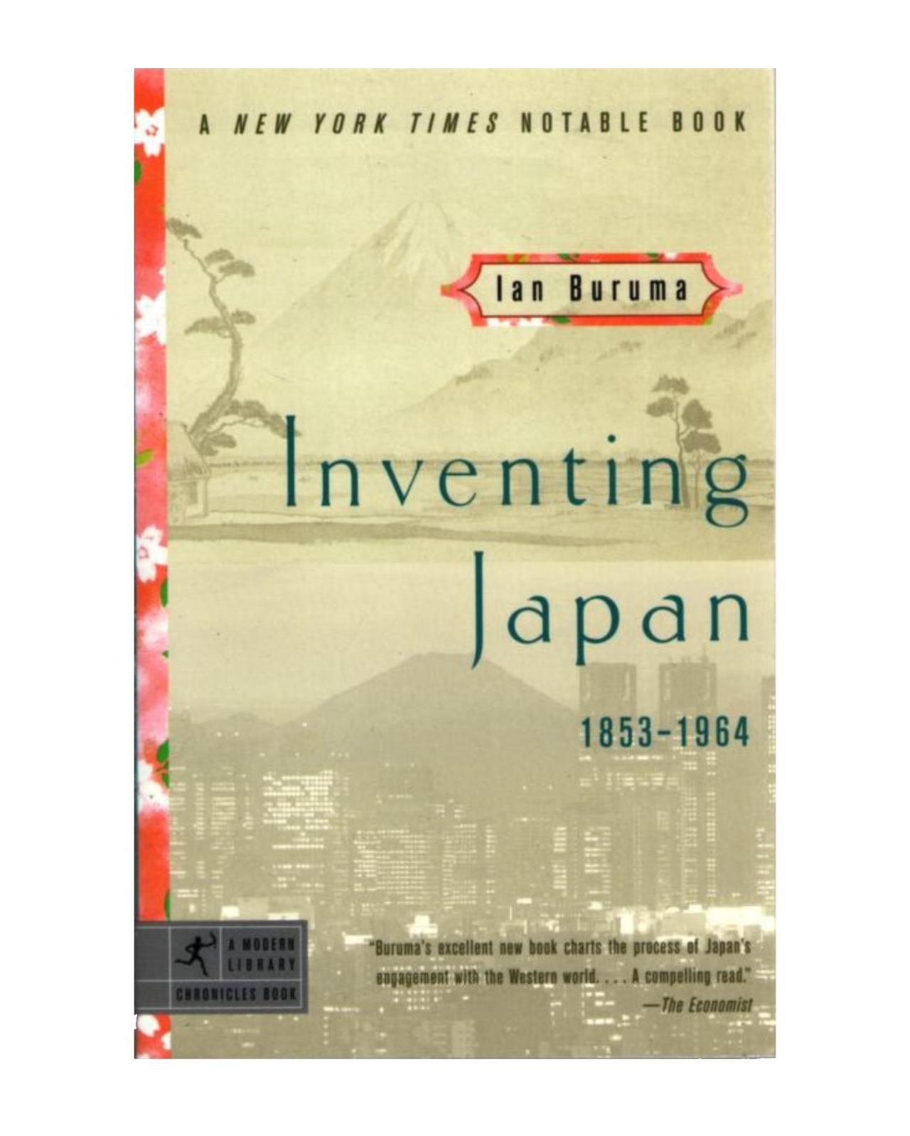 Inventing Japan 1853-1964