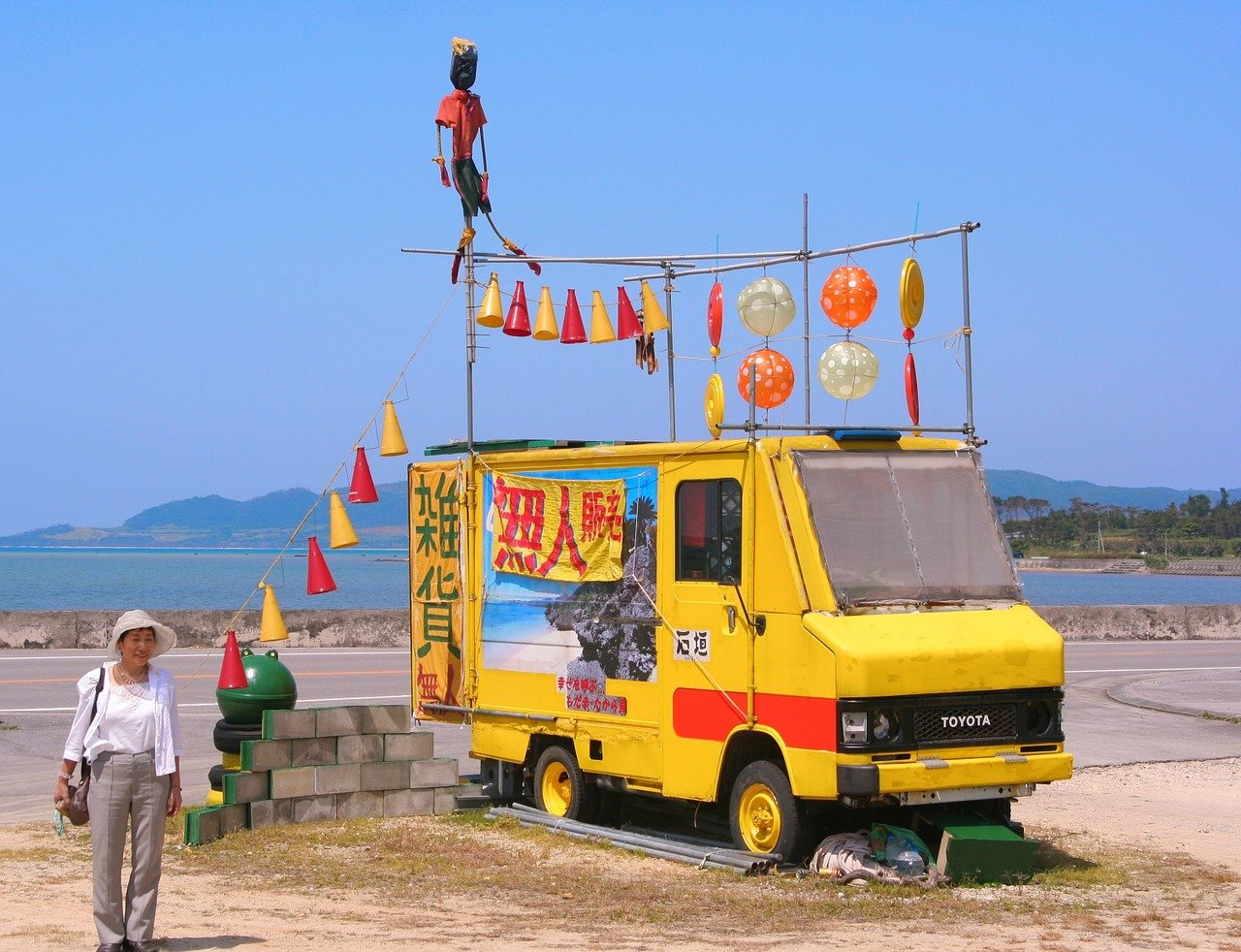 Strandjutter op Ishigaki