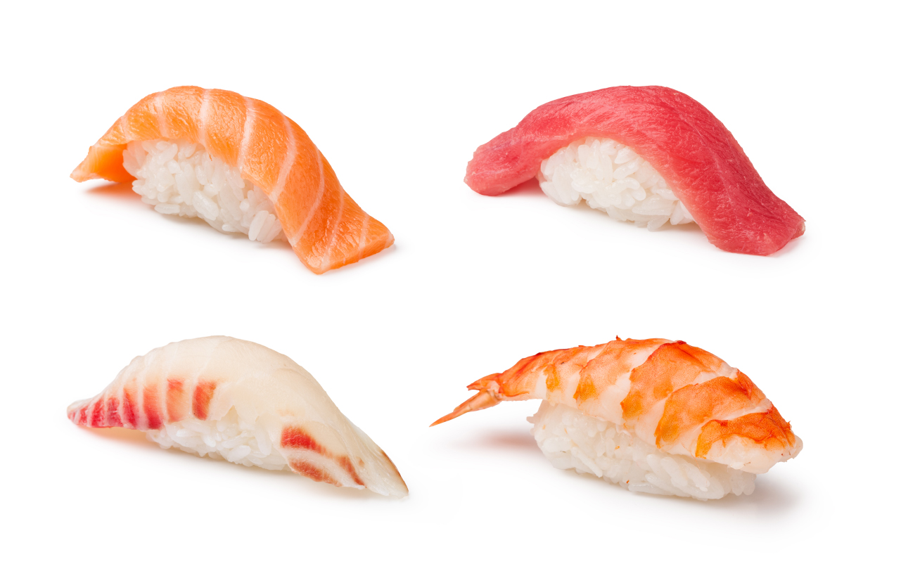 Nigiri sushi zelf maken