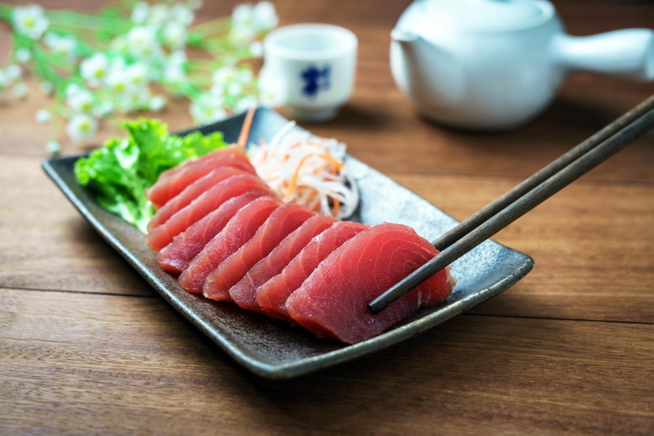 Sashimi zelf maken