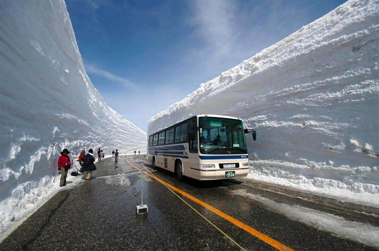Snow Canyon nabij Morioka