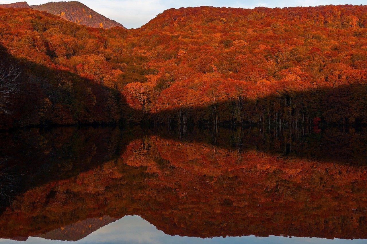 Tsutanuma / herfst in Aomori
