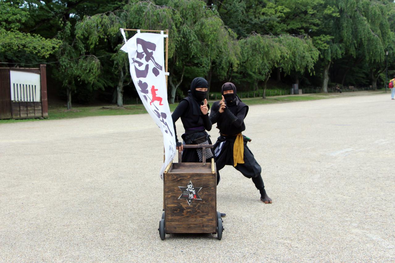Japanse shinobi