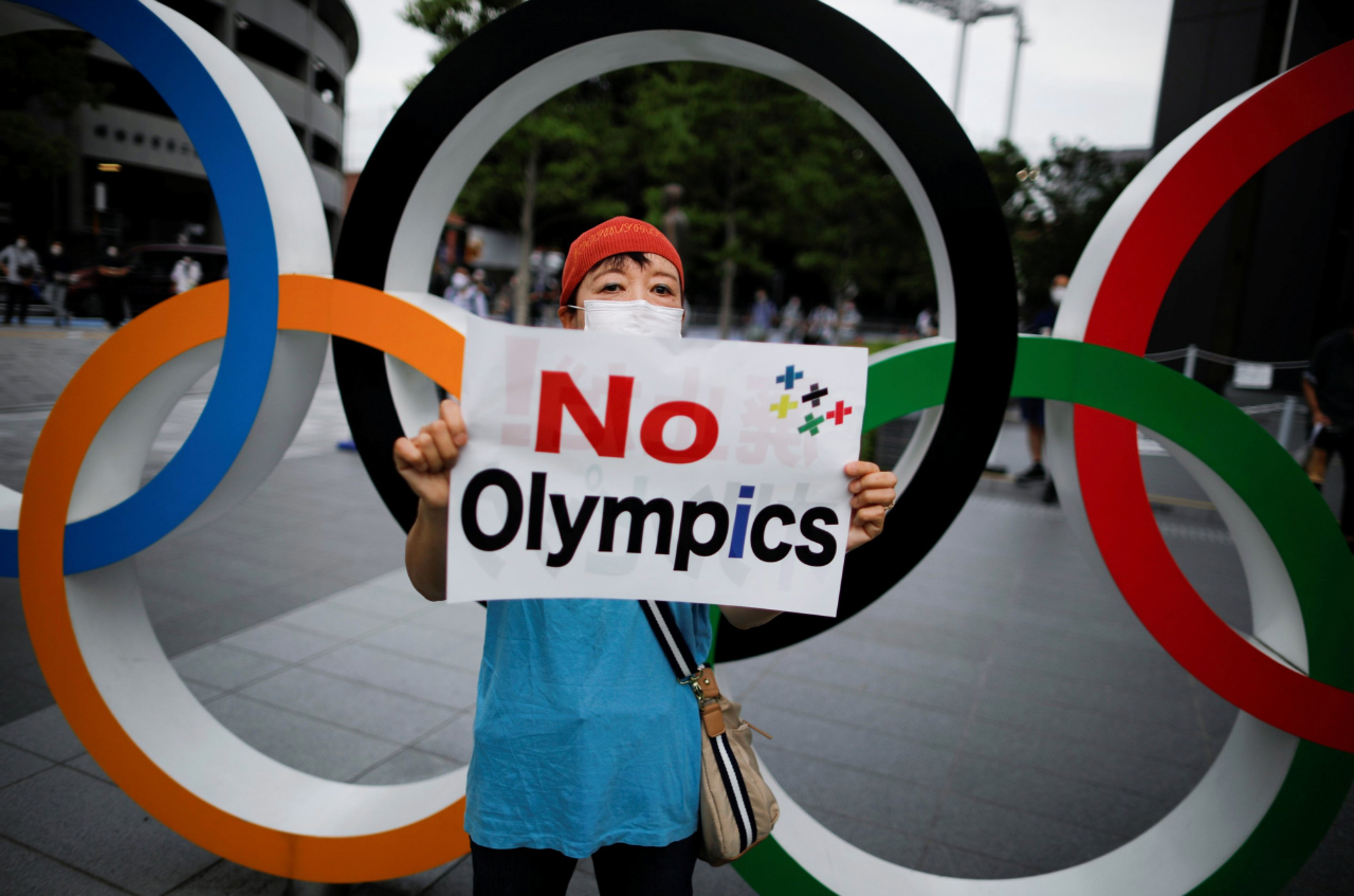 Stop de Olympische Spelen in Tokyo